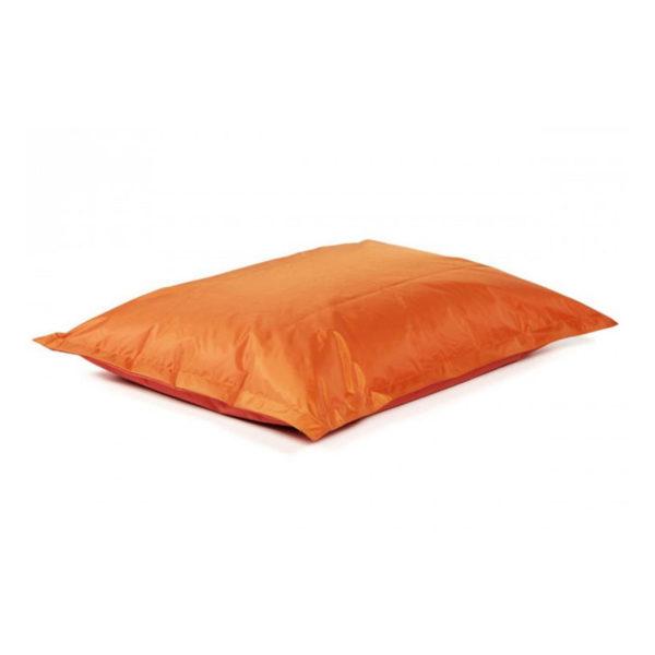 pouf géant orange pour égayer vos réceptions, parfait fauteuil d'appoint en extérieur comme en intérieur