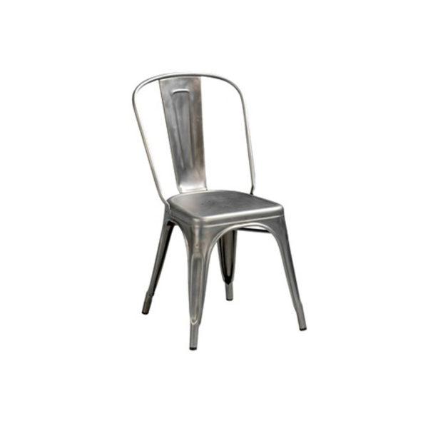 Chaise industrielle pour créer une thématique pour vos évènements, réception, cocktail